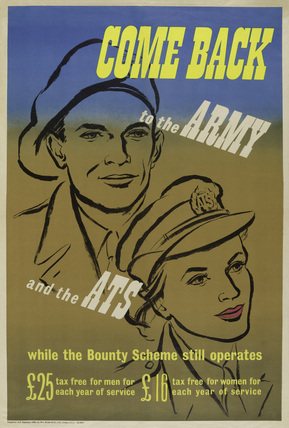'Come Back to the Army and the ATS', 1939 (c)