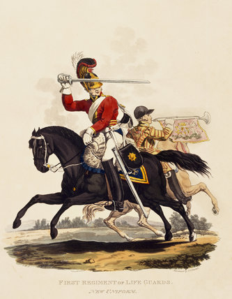 First Regiment of Life Guards, 1812