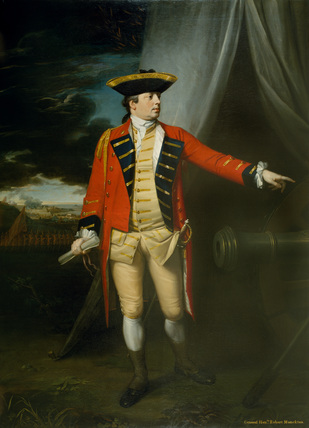 Major-General The Honourable Robert Monckton, at the Taking of Martinique, 1762