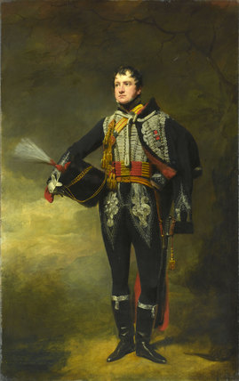 Lieutenant John James Douglas, 15th (or The King's) Regiment of (Light) Dragoons (Hussars), 1819 (c).