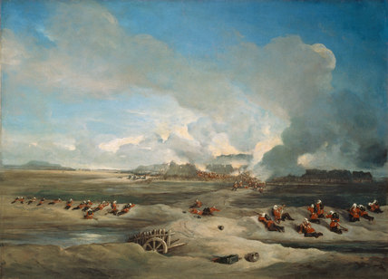 The Storming and Capture of the North Fort, Peiho, 1860