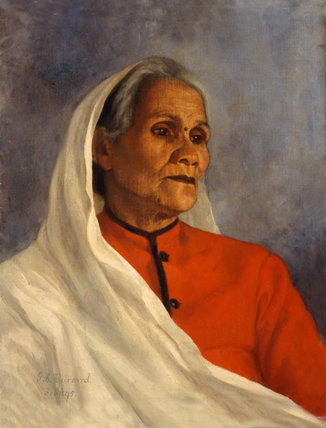 Nussiban, our ayah (nanny), 1895