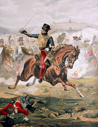 Lord Cardigan, Charge of the Light Brigade, 25 October 1854