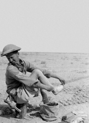 'Bill Palmer really needed a respirator', North Africa, 1943 (c)