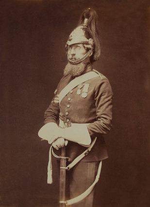 Sergeant-Major Bailey, 1st (The King's) Regiment of Dragoon Guards, 1856