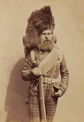 Colour-Sergeant Taylor, 72nd (Duke of Albany's Own Highlanders) Regiment of Foot, 1856