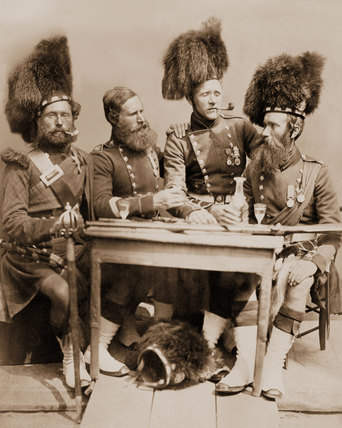 Muir, Glen and McKenzie, 42nd (The Royal Highland) Regiment of Foot, 1856