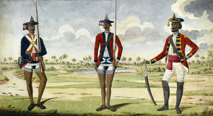 Bengal Army Troops, 1785 (c)