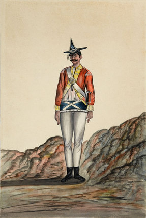 Indian Officer, Bengal Army, 1805 (c)