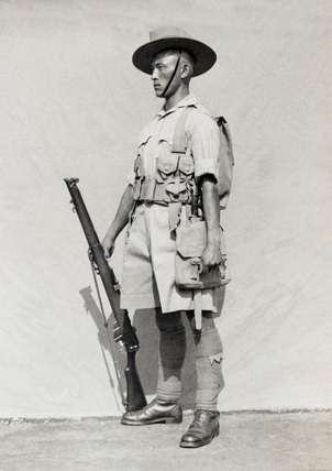 A Rifleman of the 7th Gurkha Rifles, 1938