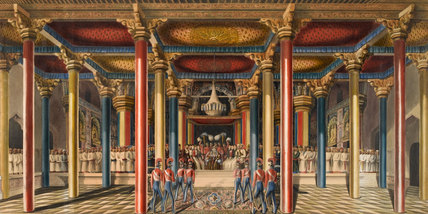 The Tanjore Durbar, 1840