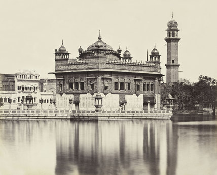 Golden Temple at Amritsar, 1870 (c)
