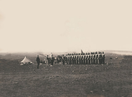 Lieutenant-General Sir John Campbell and the Light Company of the 38th Regiment of Foot