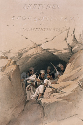 'Beloochees in the Bolan Pass', 1839