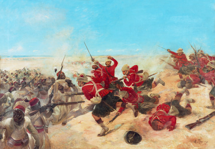 The Black Watch at the Battle of Tel-el-Kebir, 1882