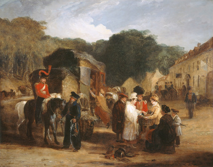 The Village of Waterloo, 1815 (c)