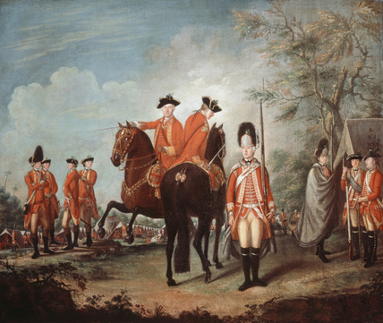 Two Horses of the Regiment, 1769 (c)