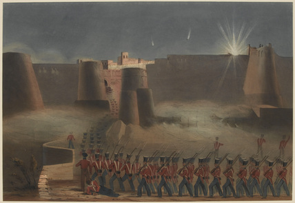 The Storming of Ghuznee, 23 July 1839
