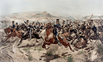 The Charge of the Light Brigade, 1854