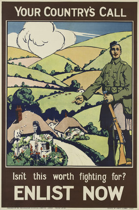 'Your Country's Call. Isn't this worth fighting for?', 1915
