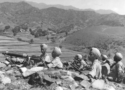 A machine gun section, 11th Sikh Regiment, Waziristan, 1936 (c)