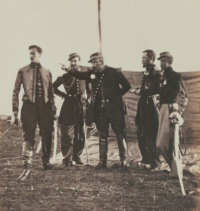General Pierre Bosquet and Staff, 1855
