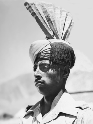 A sepoy of the Allied occupation force in Iran, 1941 (c)