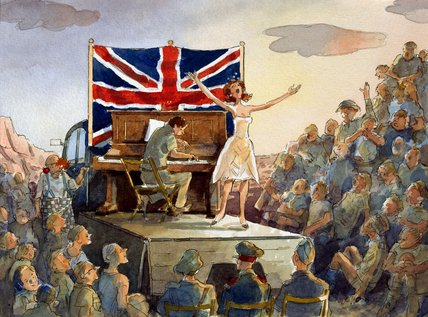'The Concert in the Desert', 1942 (c)