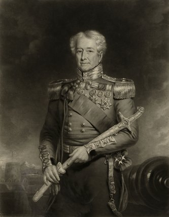 Major General Sir Robert H Sale, GCB, 1845 (c)