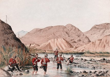 A sketch in the Bolan Pass, 1879 (c)