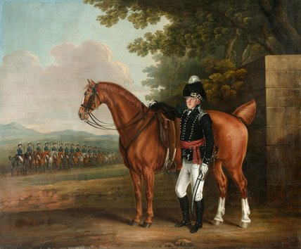 Colonel Thomas Cooper Everitt, Hampshire Fencible Cavalry, 1800