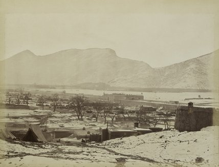 Sherpur cantonment showing the Sher Dirwaza, Afghanistan, 1879