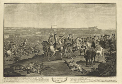 The Battle of Ramillies, 23 May 1706