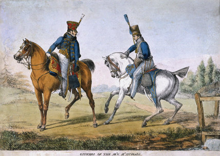 Officers of the 10th and 18th Hussars, 1819