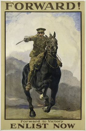 'Forward! Forward to Victory', 1914 (c)