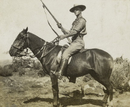 Frederick Charles Parkes, South African Constabulary, 1901 (c)