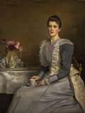 Portrait of Mary Endicott (d.1957), Mrs Joseph Chamberlain