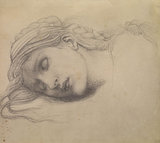 The Briar Rose Series - Study of a Sleeping Maiden for 'The Garden Court'