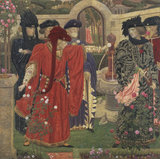 Choosing The Red and White Roses in the Temple Garden