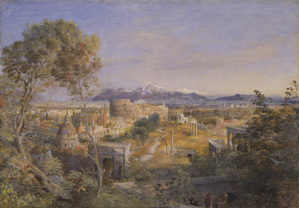 A View Of Ancient Rome, 1838