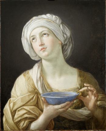 Portrait of a Woman, perhaps Artemisia or Lady with a Lapis Lazuli Bowl