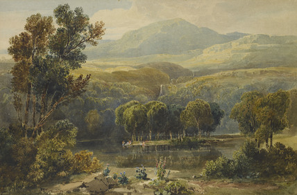 Lake Scene, North Wales