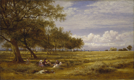 An English Hayfield
