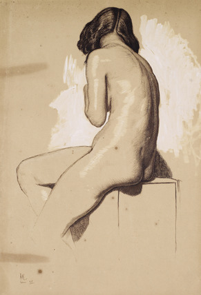 Female Nude - Study from behind