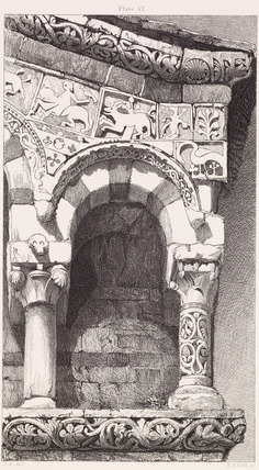 The Seven Lamps of Architecture - Arch from the Facade of the Church of San Michele at Lucca
