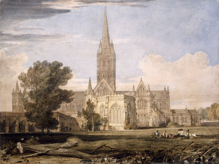 South View of Salisbury Cathedral