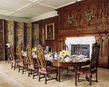 The Dining Room at Blickling Hall with the table set for a meal
