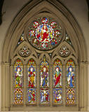 The Britiffe Arms - stained glass panel in upper lights of North window in the Long Gallery