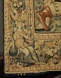 Detail from one of the Ulysses Tapestries in the High Great Chamber