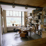 Erno Goldfinger's studio at 2 Willow Road